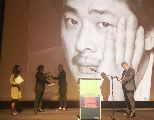 박찬욱 노르웨이 국제영화제서 명예상